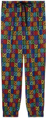 Gucci Loose GG Psychedelic print jogging pant
