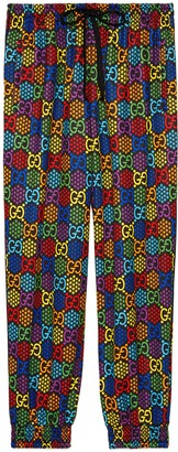Gucci Loose GG Psychedelic print track bottoms