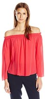 Jay Godfrey Women's Holly Off The Shoulder Blouse