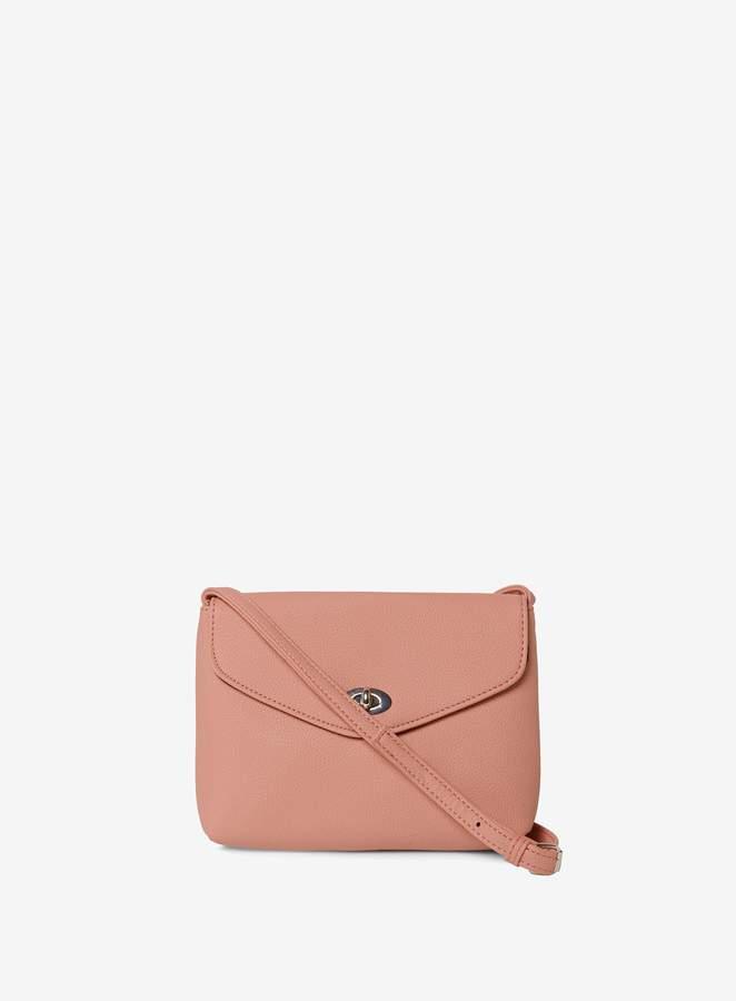 1bcb1823982 Womens Blush Twist Lock Cross Body Bag