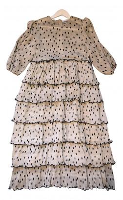 Ganni Spring Summer 2019 Beige Polyester Dresses