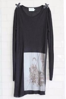 Window Dressing The Soul - Oriental Lady Dress - XS - Black/White