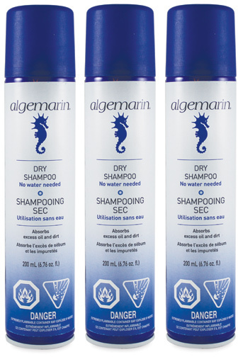 Algemarin Dry Shampoo 3 Pack