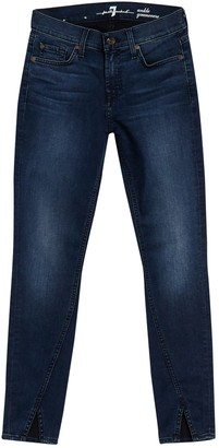 7 For All Mankind Gwenievere High Waist Ankle Skinny Jeans