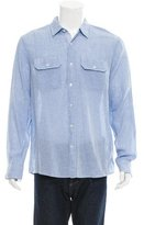 Michael Kors Gingham Button-Up Shirt w/ Tags