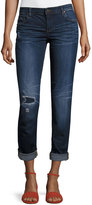 KUT from the Kloth Catherine Low-Rise Skinny Boyfriend Jeans, Blue