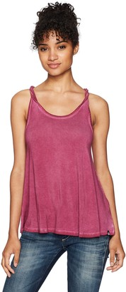 Volcom Women's Twisted Time 2 Overdyed Knit Tank