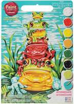 """Dimensions Paint Works Paint By Number Kit 9"""" x 12"""" - Frog Pileup"""