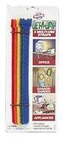 Velcro R) brand Get-A-Grip(R) Straps 1/2 Inch x8 Inch 5/Pkg Multi-Colored