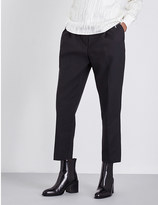 3.1 Phillip Lim Cropped high-rise tailored trousers