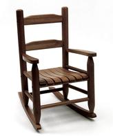 Lipper Walnut Classic Rocking Chair