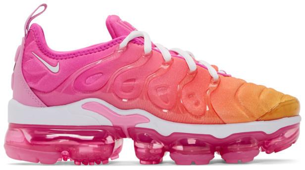 check out 1efad e7c2e Pink Air VaporMax Plus Sneakers