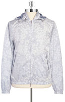 Michael Kors Floral Windbreaker Jacket