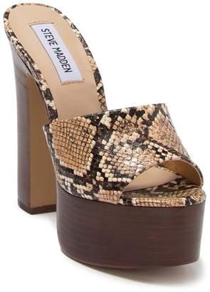 Steve Madden Yamina Platform Block Heel Sandal