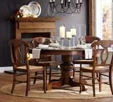 Pottery Barn Tivoli Extending Pedestal Table & Napoleon Chair 5-Piece Dining Set