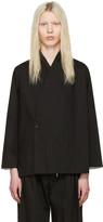 SASQUATCHfabrix. Black Jinbei Shirt