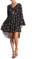 Dex Print Cutout Dress