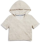 Splendid Girls' Embroidered French Terry Pullover Hoodie - Sizes 7-14