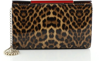 Christian Louboutin Vanite Clutch Printed Patent Small
