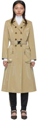 Fendi Beige Forever Belted Trench Coat
