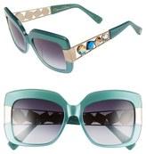 Oscar de la Renta 54mm Oversize Sunglasses