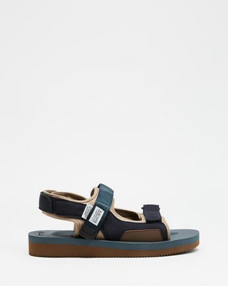 Suicoke Blue Sandals - Was-V Sandals - Unisex - Size M7/W9 at The Iconic