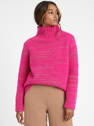 Banana Republic Petite Italian Spacedye Sweater
