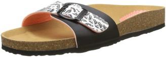 Desigual Shoes Bio1 Save Queen Black Women Heels Sandals