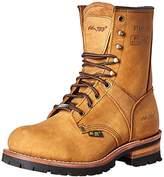 """AdTec Ad Tec 9"""" Super Logger Steel Toe Boots for Men"""