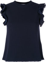 See by Chloe frill trim blouse