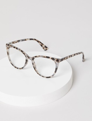 Lane Bryant Tortoise Print Cateye Reading Glasses