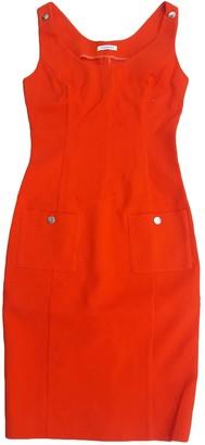 Iceberg Orange Cotton Dress for Women