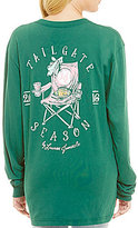 Lauren James Long-Sleeve Tailgate Season Tee