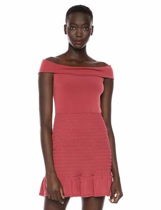 BCBGeneration Women's Off The Shoulder Smocked Dress