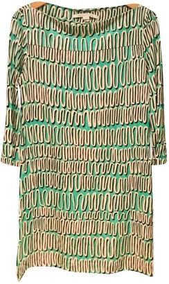 Diane von Furstenberg Green Silk Dresses