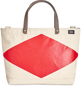 Jack Spade Men's Industrial Canvas Diamond Coal Bag