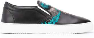Marcelo Burlon County of Milan embroidered Wings sneakers