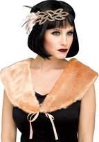 Fun World Costumes 1920's Stole Womens Flapper Faux Fur Shoulder Cape Costume Accessory
