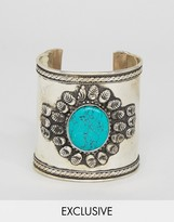 Reclaimed Vintage Inspired Stone Embellished Arm Cuff