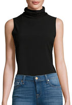 French Connection Sleeveless Turtleneck Top