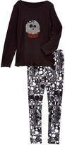 Beary Basics Black Skull Cupcake Tee & Skull Leggings - Toddler & Girls