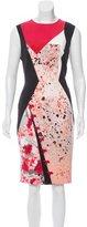 Prabal Gurung Sleeveless Print Dress