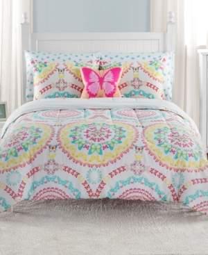 Sanders Beautifly Full 7 Piece Comforter Set Bedding