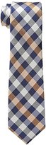 Ben Sherman Men's Canoas Plaid Skinny Tie