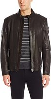 HUGO BOSS BOSS Orange Men's Jofynn Sheep Leather Biker Jacket