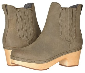 Frye Odessa Chelsea (Taupe Oily Nubuck) Women's Boots