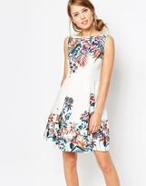 Oasis Jacquard Skater Dress