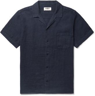 YMC Malick Camp-Collar Linen Shirt - Men