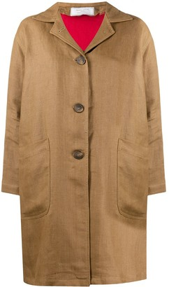 Societe Anonyme Button Down Patch Pocket Coat