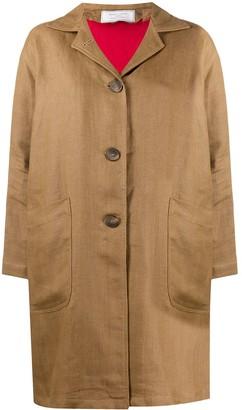 Societe Anonyme button down patch pocket coat